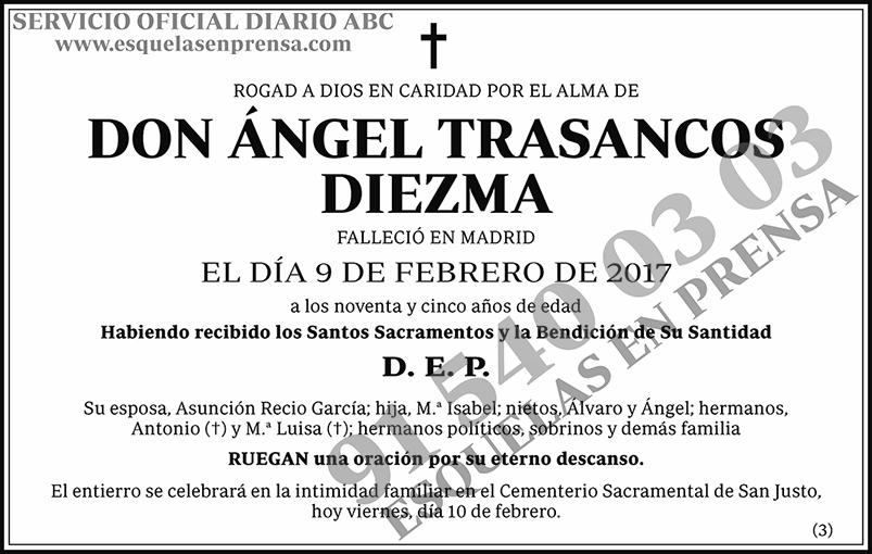 Ángel Trasancos Diezma